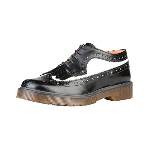 Chaussure YLVA_NERO_BIANCO Noir