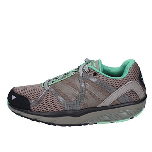 0b92a2be805f3a MBT Damen Leasha Trail 5 Lace Up Fitnessschuhe (Oli.Nt DST Gr Rub Blk SIL)  36 EU