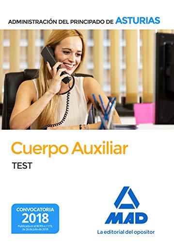 Cuerpo  Auxiliar de la Administración del Principado de Asturias. Test