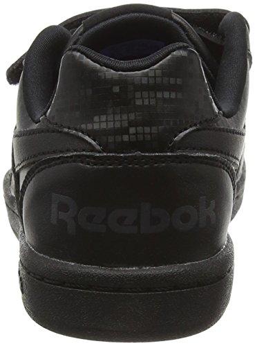 Reebok Royal Prime Alt, Scarpe da Ginnastica Basse Unisex – Bambini Nero (Black/Ash Grey)