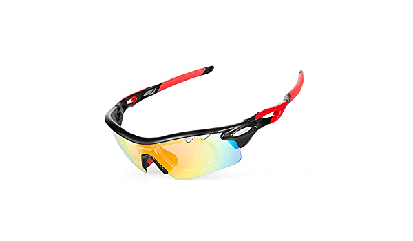 INBIKE Cycling Glasses UV Proof Polarized 5 Replaceable Lens 3 Colors Frame Sunglasses Bike Cycling Driving Fishing Skiing Running Glasses Eyewear Goggle