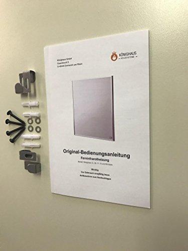 Infrarot Heizung / 600 Watt - 7