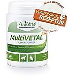 AniForte® MultiVETAL Pulver 100g – Natürliches MultiVitamin mit Acerola & Acai - Naturprodukt für Hunde & Katzen