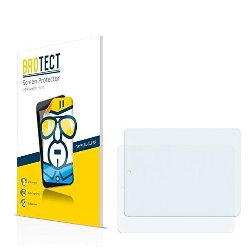 2X BROTECT HD Clear Bildschirmschutz Schutzfolie für Odys Study Tab (kristallklar, extrem Kratzfest, schmutzabweisend)