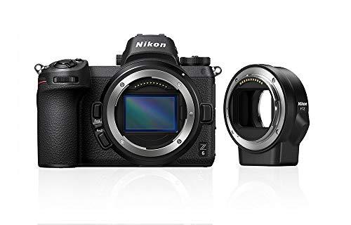 Nikon Z6 System Digitalkamera mit FTZ-Bajonettadapter Cmos-system