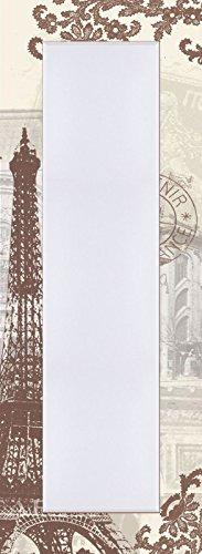 Artland-pared-de-piso-de-espejo-con-facetas-de-25-mm-de-filo-decorativo-Modelo-de-marco-Impresin-Digital-W-L-Paris-Collage-Arquitectura-del-Edificio-Monumentos-de-arte-digital-Crema-1404-X-504-x-16-cm