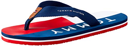 Tommy Hilfiger Tommy Hilfiger-30215 Sintetico Adolescente-Unisex Azul (Bluros) 33