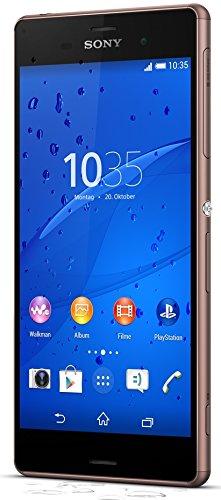 Sony Xperia Z3 - Smartphone libre Android  pantalla 5 2   c  mara 20 7 Mp  16 GB  Quad-Core 2 5 GHz  3 GB RAM   color cobre