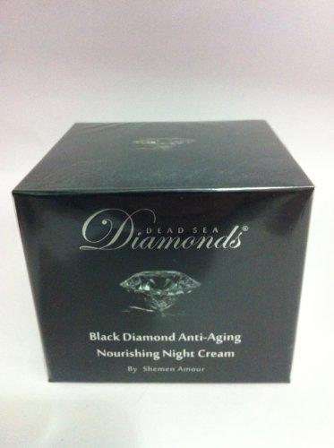 Shemen Amour - Dead Sea Black Diamond - Crème de jour anti-age à la poudre de diamant - 50 ml