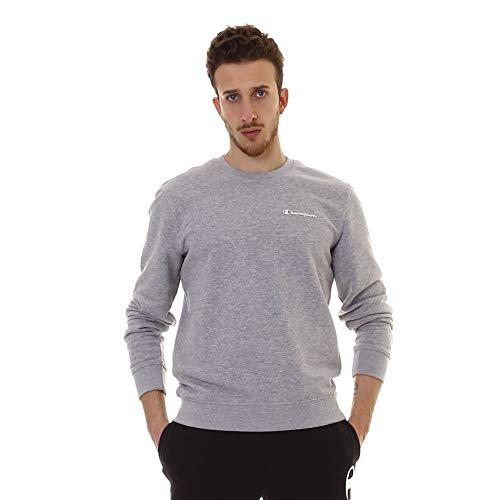 Champion Sweatshirt Herren 212684 S19 EM006 OXGM Grau, Größe:L (Champion Pullover)