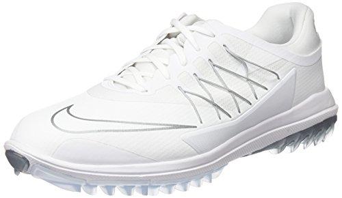 Nike Lunar Control vapore scarpe sportive, Uomo blanco / plata