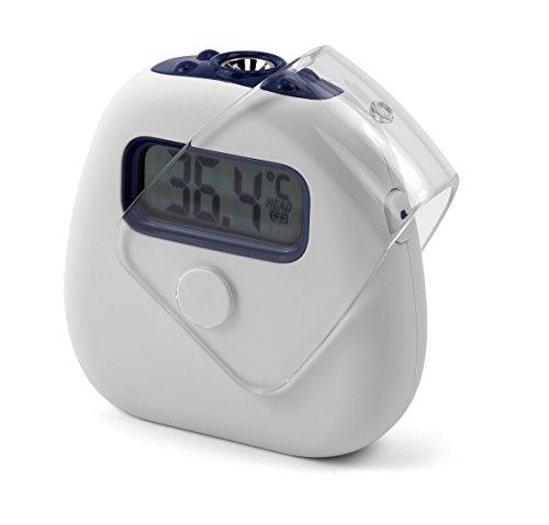⭐ MedX5 Infrarot Fieberthermometer mit Fieberalarm, Digital Thermometer Stirnthermometer für Kinder und Erwachsene