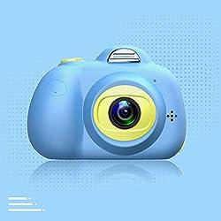 FULANTE Appareil Photo numérique, Mini Appareil Photo numérique Petit Reflex, Les Enfants Bande dessinée Jouet caméra (32G)