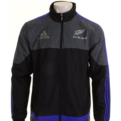 New Zealand All Blacks 2016 Players Presentation Rugby Jacket - size L (Adidas Rugby-bekleidung)