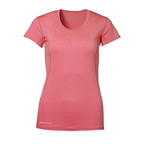 ID T-Shirt Sport à Manches Courtes (Coupe Féminine) - Femme Orange mélangé