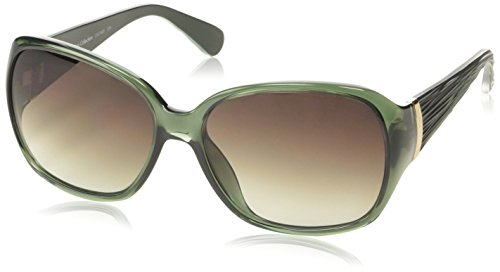 Calvin Klein CK7740 Wayfarer Sonnenbrille, Grün (235 Bronze)