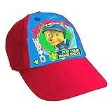 Lora Dora Baseballcap für Kinder mit Cartoonfiguren, anpassbar, Schirmmütze für Jungen und Mädchen Gr. Einheitsgröße, Paw Patrol - Chase