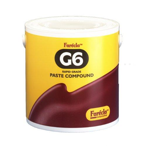 Farécla G6-3000/4 - Pasta abrasiva G6 ad azione rapida, confezione da 3 Kg