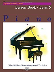 Alfred's Basic Piano Lesson Book 6 --- Piano - Palmer, Manus & Lethco --- Alfred Publishing