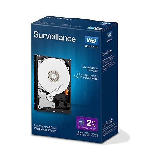 Wd purple intellipower hard disk drive per videosorveglianza da 2 tb, kit retail box, 3.5