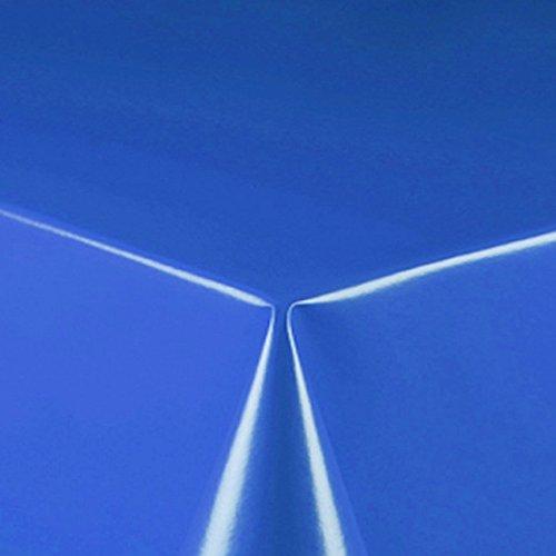 d-c-fix Partytischdecke Lackfolie 100 x 250 cm Blau abwaschbare Tischdecke Party Tischdecke 100x250 cm