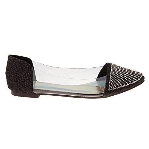 London Footwear - Ballet donna Black