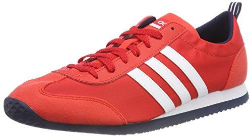 adidas Vs Jog, Chaussures de Fitness Homme, Rouge (Rojbas/Ftwbla/Maruni 000), 44 EU