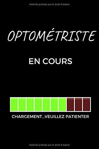 Cahier optométriste: Cadeau de graduation pour les optométristes et les étudiants en optométrie, cahier de cadeau amusant (6 x 9 cahiers lignés, 120 pages)