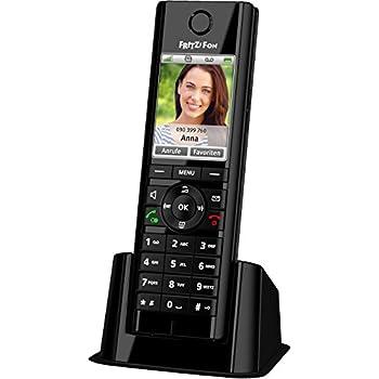 AVM Fritz!fon C5 DECT-Komforttelefon (für Fritz Box, hochwertiges Farbdisplay, HD-Telefonie, Internet-/Komfortdienste, Steuerung Fritz!box-Funktionen, deutschsprachige Version)