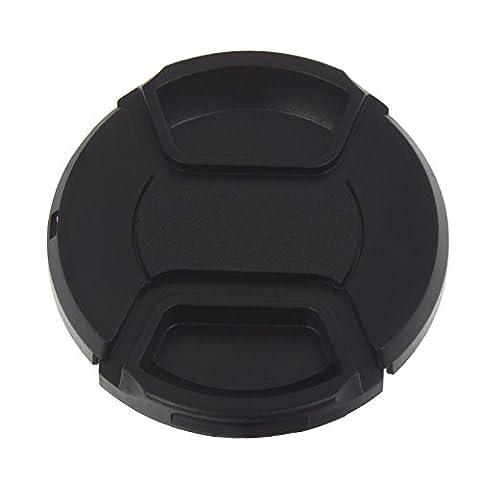 Smartfox Objektivdeckel Objektivklappe Objektivkappe Ø 58 mm mit Verschlussclip inkl.