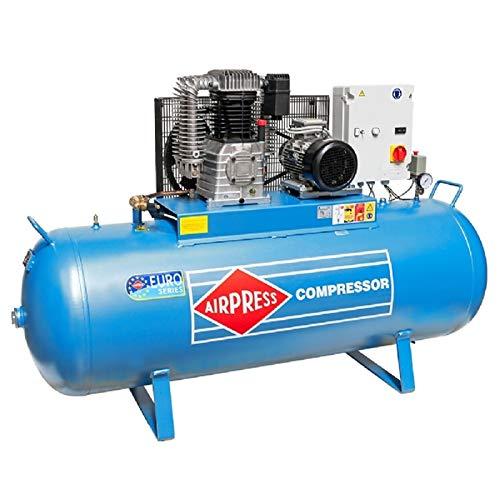 Compresor de aire comprimido de 5,5 CV, 500 L, 15 bar, tipo K500-700S