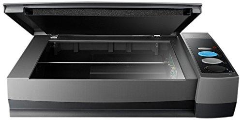 Plustek OpticBook 3900 A4-Flachbettscanner 1200x1200DPI, 216x297mm, 48/24Bit, Graustufen, Farbe: Schwarz