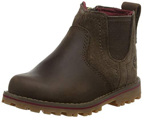 Timberland Unisex-Kinder Honeybrook Chelsea Boots Braun (Dark Brown Connection 242), 26 EU