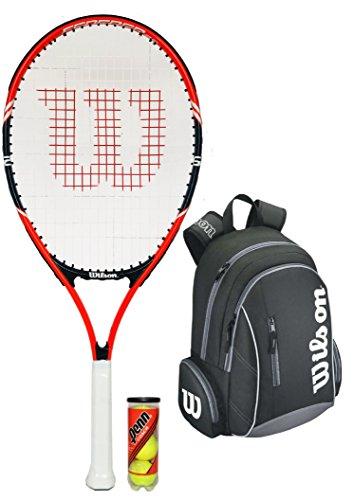 """Wilson Federer Junior - Raqueta de tenis Set 26\"""""""