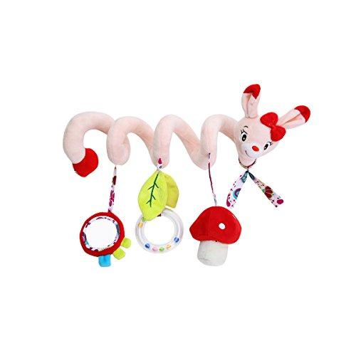 TOYMYTOY Recién nacido Baby Crib Toy Wrap Around Crib Rail Toy Cochecito de juguete Lindo Bebé Juguetes...