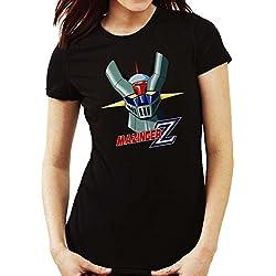 Camiseta Mujer Mazinger Z NEGRA