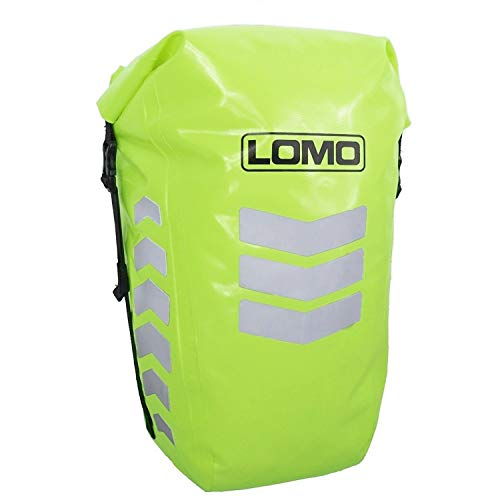 Lomo Wasserdichte Fahrradtasche in Signalfarbe -