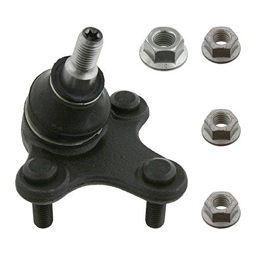 febi bilstein 36735 ProKit - Traggelenk / Führungsgelenk mit Sicherungsmuttern (Vorderachse links), 1 Stück