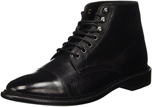 Geox Herren U Guildford C Kurzschaft Stiefel, Schwarz (BLACKC9999), 46 EU