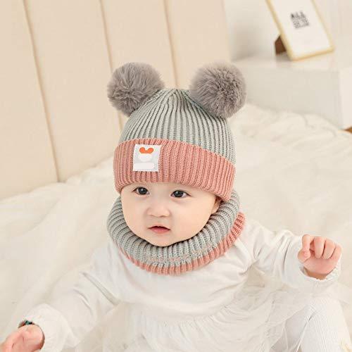 b3c2b7e67e9 HATSBABY Chapeau pour Enfants Chapeau Bébé Chapeau Mignon Modèles d automne  Et d hiver