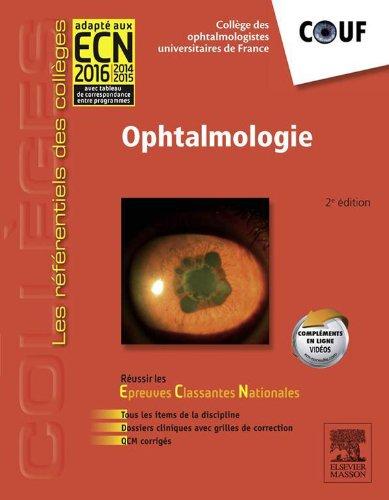 Ophtalmologie: Réussir les ECNi