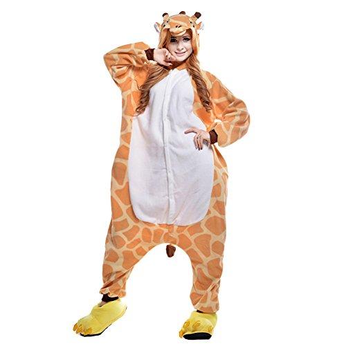 Freefisher-Pijama-Ropa-de-dormir-costume-Disfraz-de-Animal-Cosplay-Cartoon-Franela-hombre-mujer