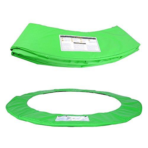 ULTRAPOWER SPORTS Federabdeckung Randschutz Randabdeckung für Trampolin 305cm – 8Stangen Rahmenpolsterung Bunt PVC - UV beständig