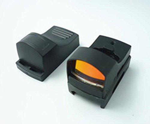 MAYMOC Mini Reflex Holographic Red Dot Anblick-Bereich Dual-Helligkeit Picatinny 20mm-Schienen-Montage -
