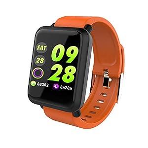 Chenang Intelligent Sport-Armband,Unisex Fitnessarmband M28 Smart Watch Wasserdicht IP67 Smartwatch Fitness Tracker Uhr mit Pulsmesser Schlafmonitor Stoppuhr