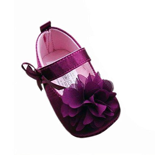 Xiangze Bebe nina Dulce encaje flor Bowknot decoracion fondo suave zapatos