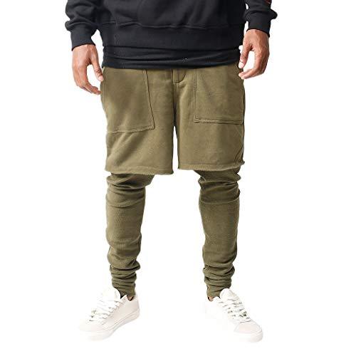 be0e9c935648 Elecenty Skinny Pantalone Sportivi Da Uomo Jogging Slim Fit Elasticizzati  Da Uomo Pants