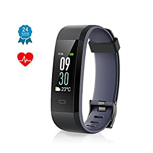Muzili Fitness Tracker IP68 (Grey)