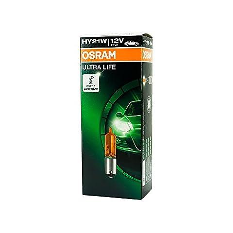 10x Osram Ampoules 12V 21W baw9s anti-brouillard Lumière clignotant lumière de frein