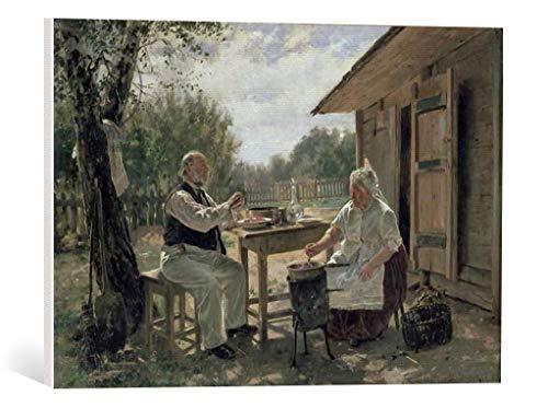 kunst für alle Leinwandbild: Wladimir Jegorowitsch Makowski Making Jam 1876